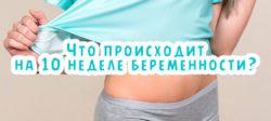 Что происходит на 10 неделе беременности?