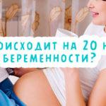 Что происходит на 20 неделе беременности?