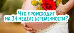 Что происходит на 34 неделе беременности?