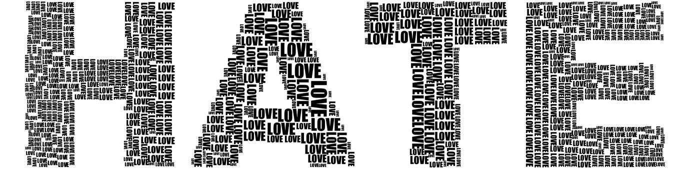 Правило №3 Переходим от любви к ненависти